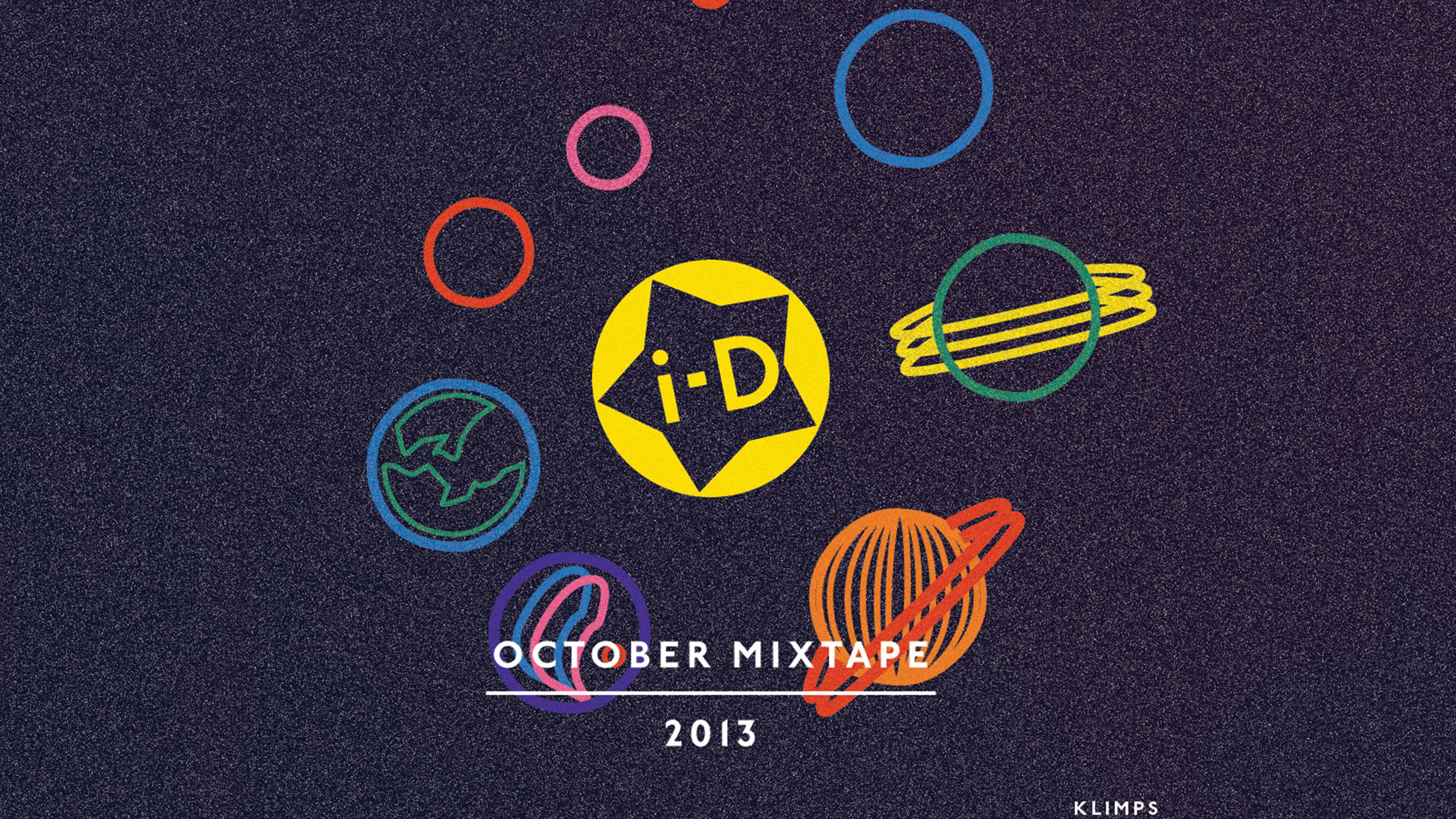 i-D October mixtape 2013