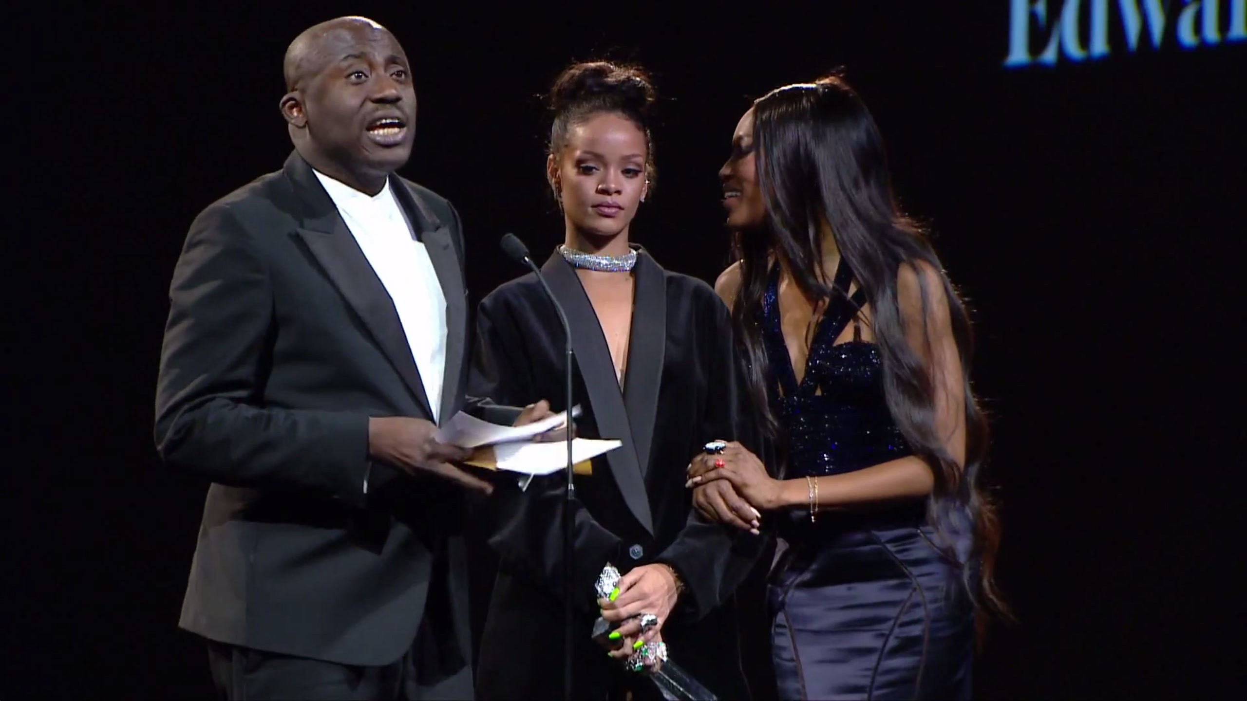 edward enninful's call to the youth of today at last nights BFA's