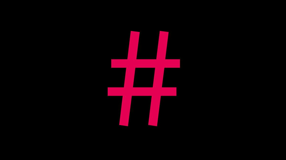 top 10 #hashtags of 2014