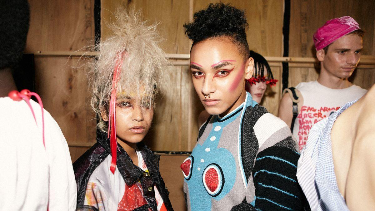 what does meadham kirchhoff's struggle say about the fashion industry?