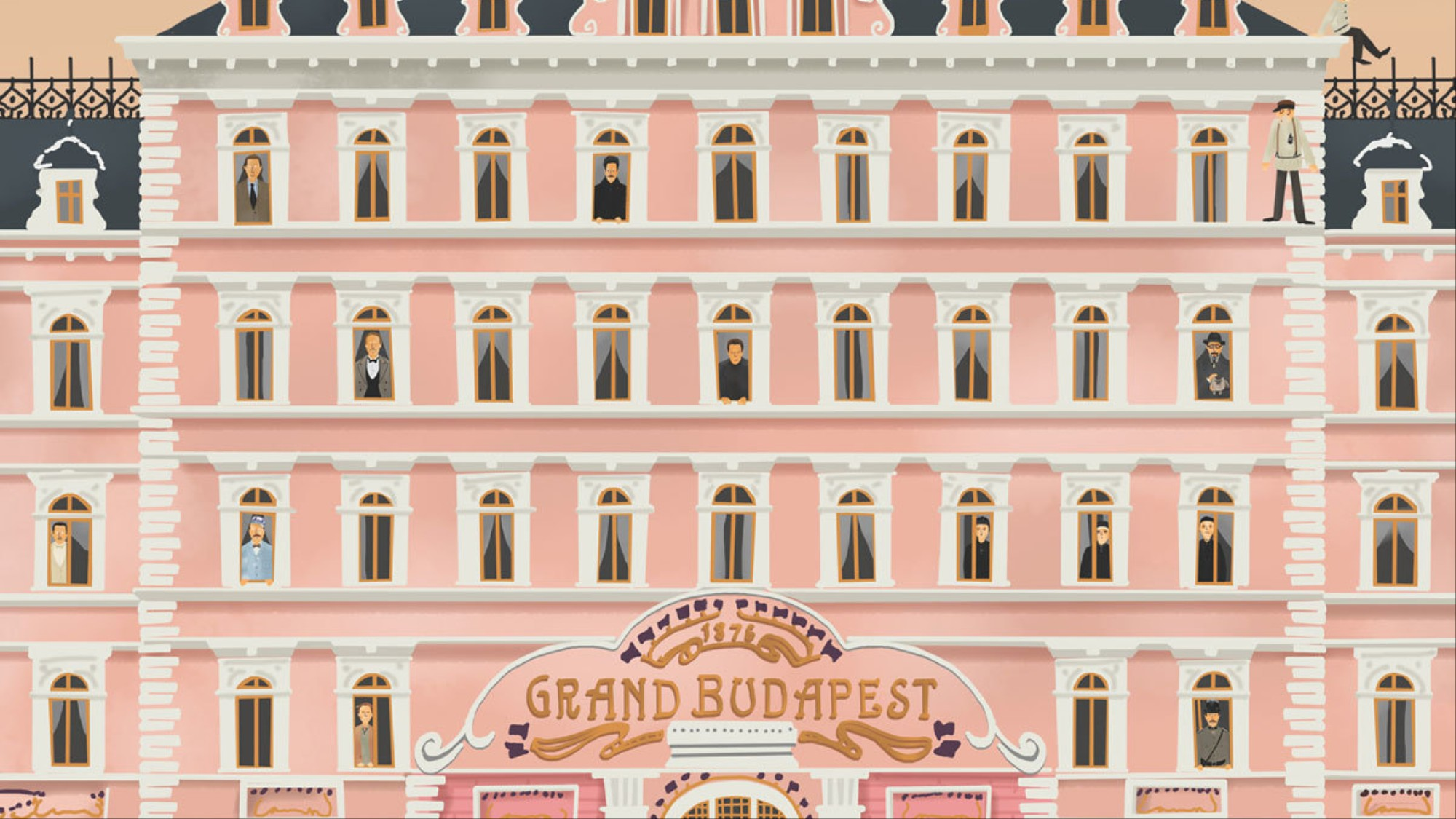 behind the scenes of the grand budapest hotel - i-D