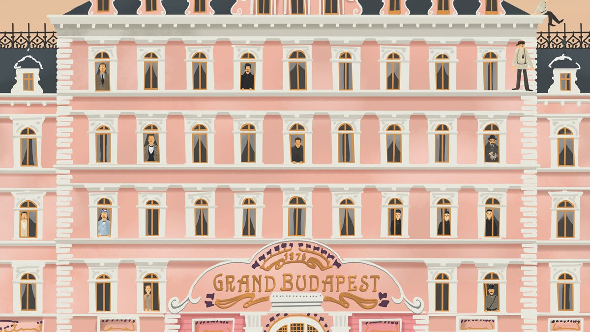 behind the scenes of the grand budapest hotel i d. Black Bedroom Furniture Sets. Home Design Ideas