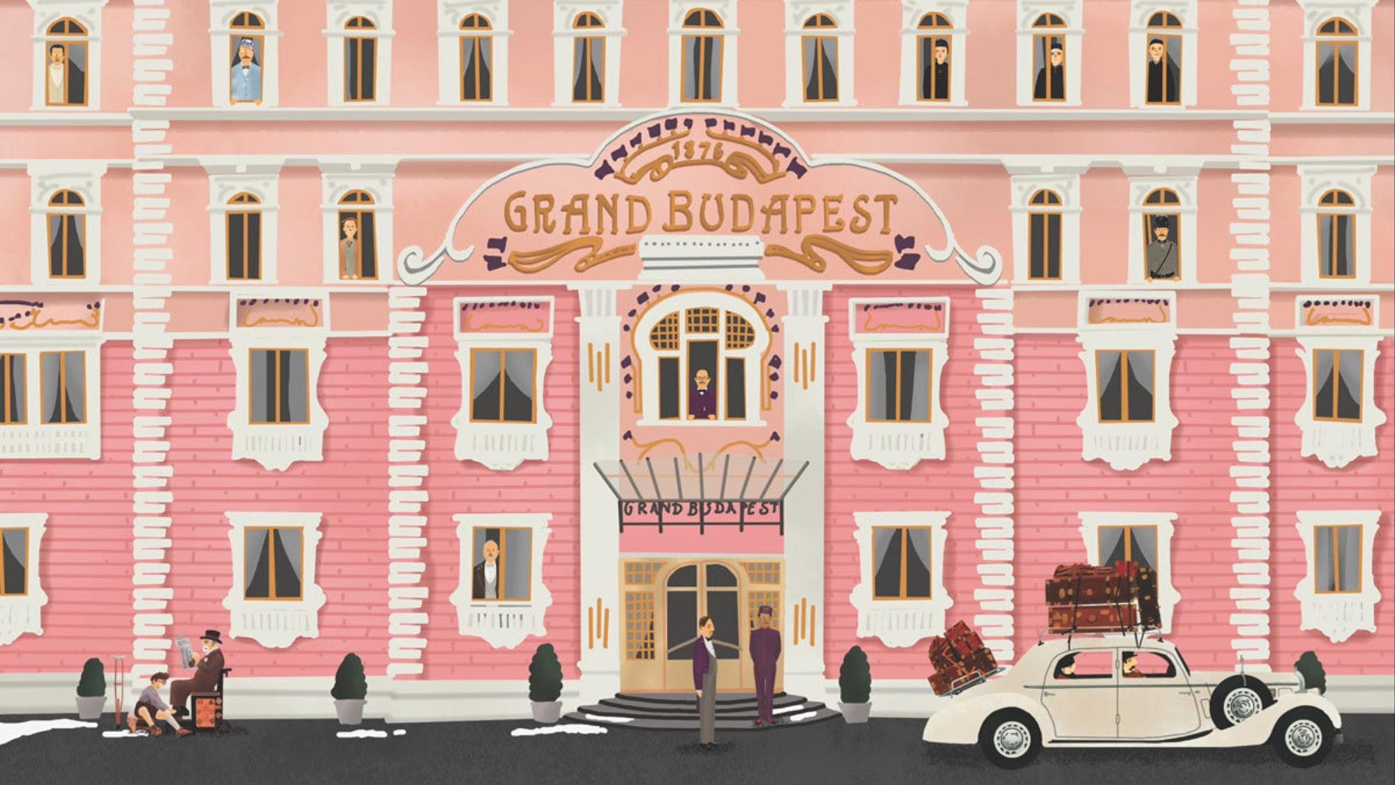 Behind the scenes of the grand budapest hotel read i d for Design hotel budapest