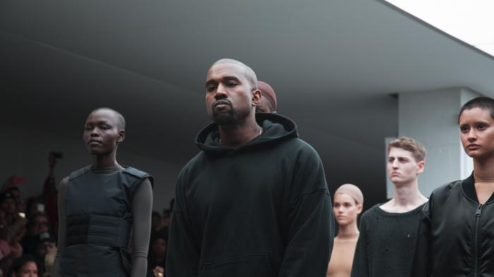 kanye explains why his first show for adidas made north cry