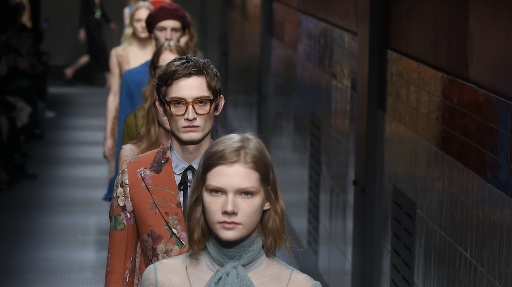 ​alessandro michele presents a new, androgynous vision for gucci