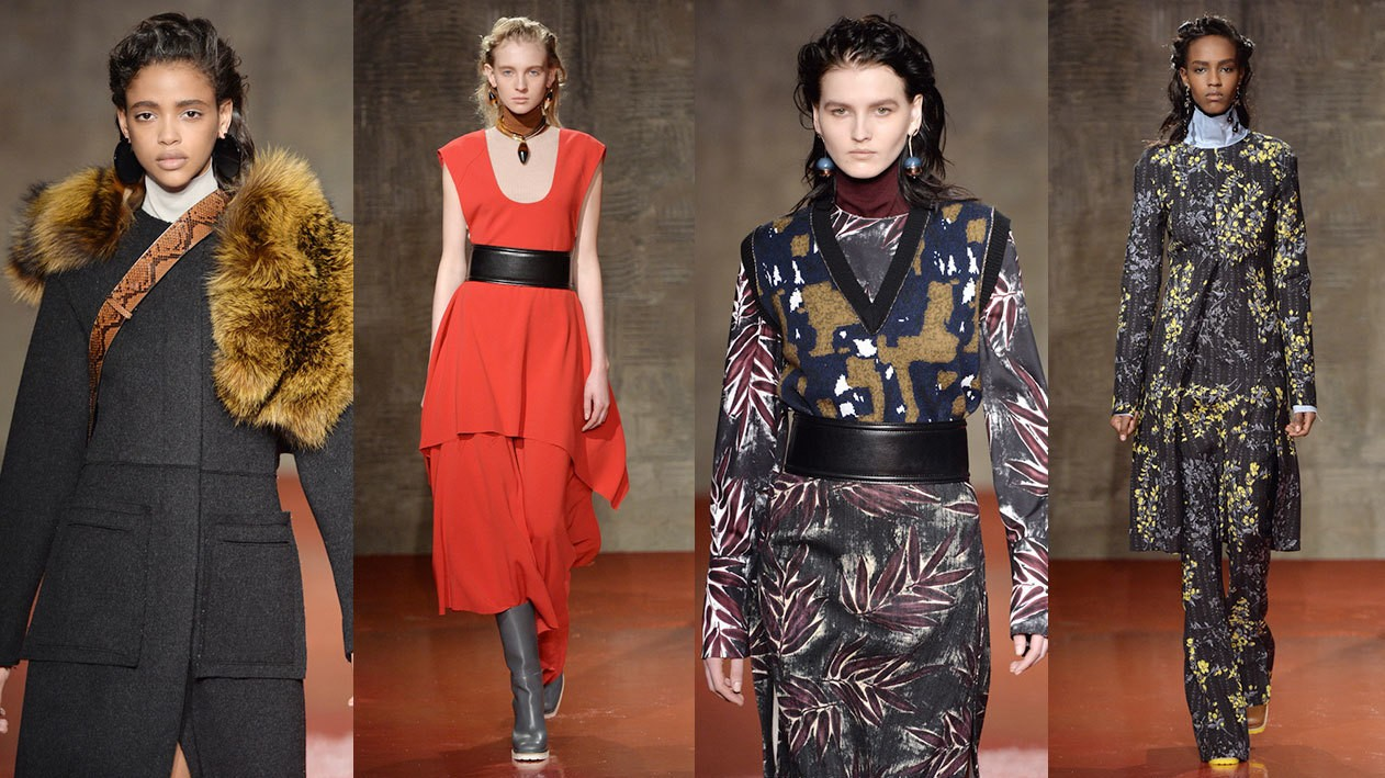 marni marches forward for fall/winter 15