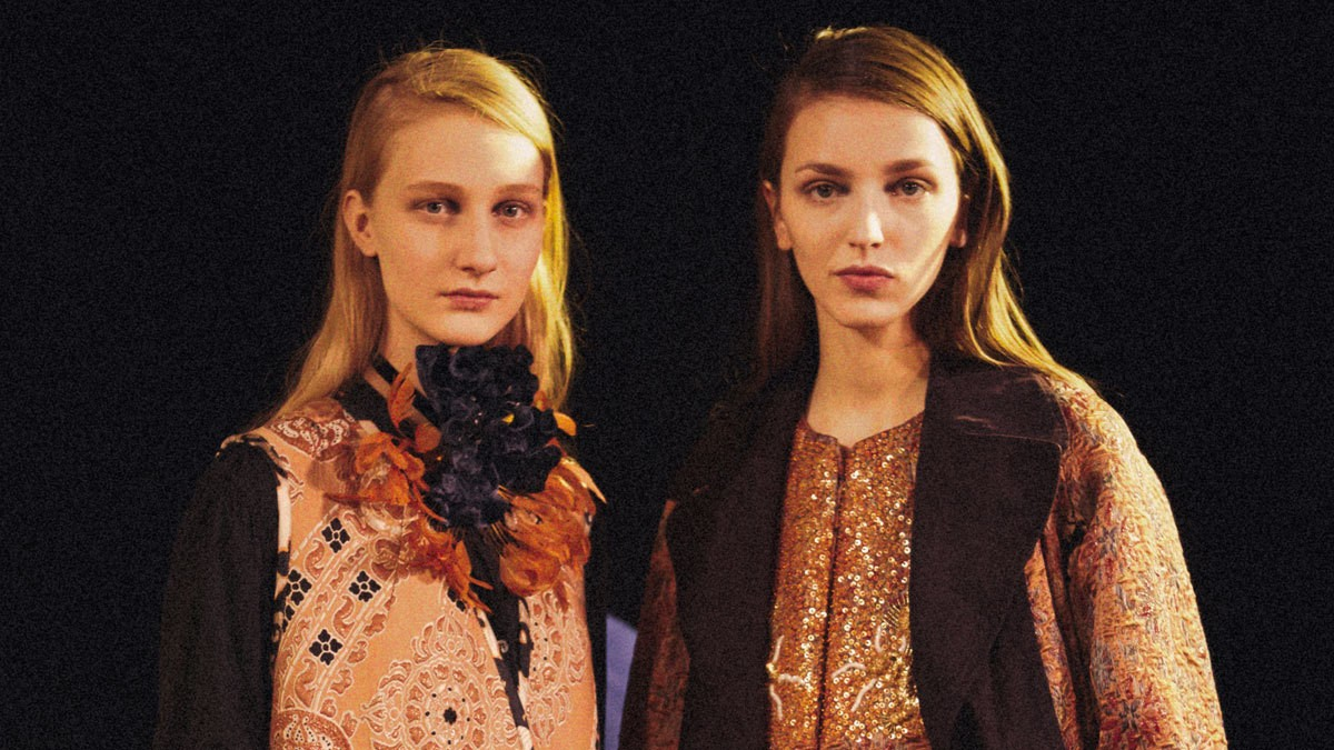 dries van noten calls for a bolder fashion world for fall/winter 15