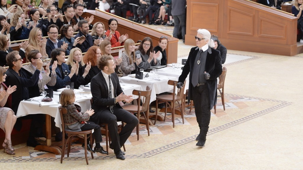 chanel, valentino and alexander mcqueen turn reflective at paris fashion week
