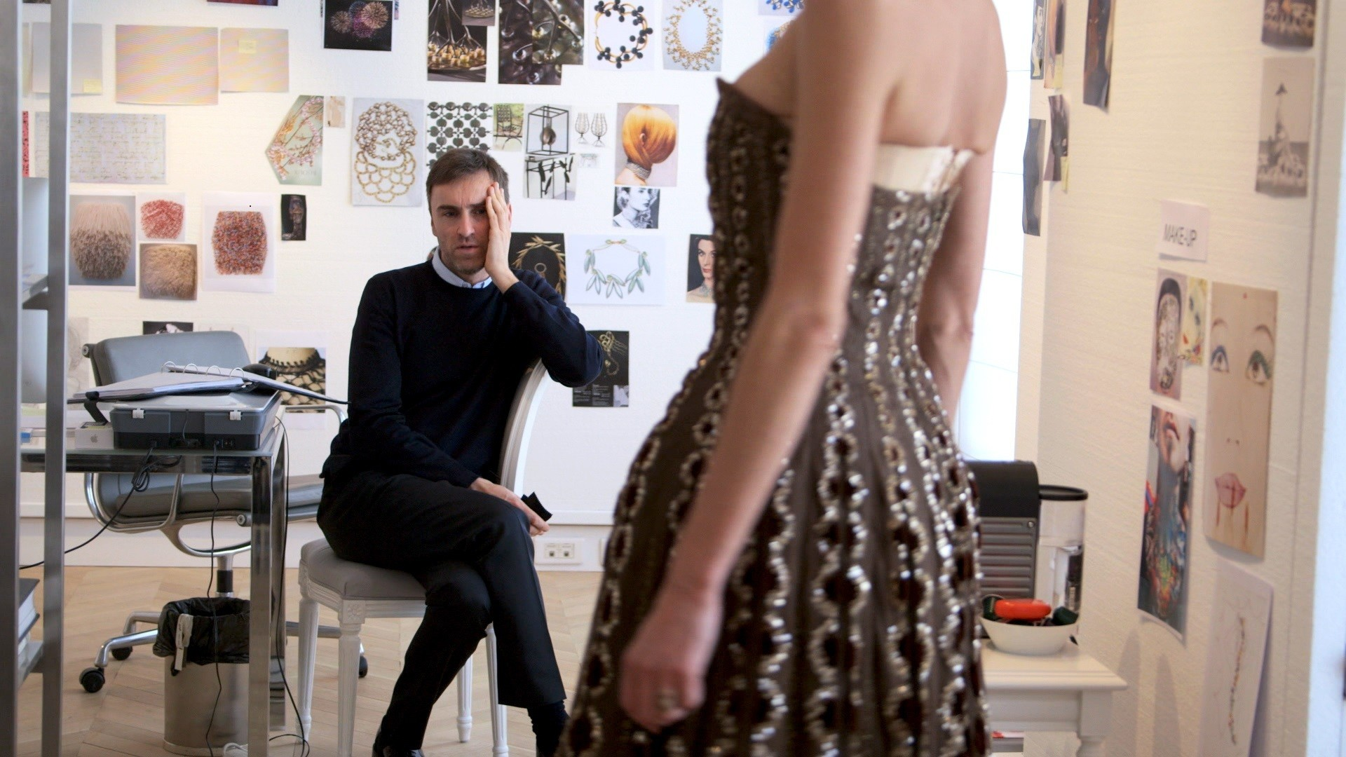 dior and i explores christian and raf and the beauty of couture