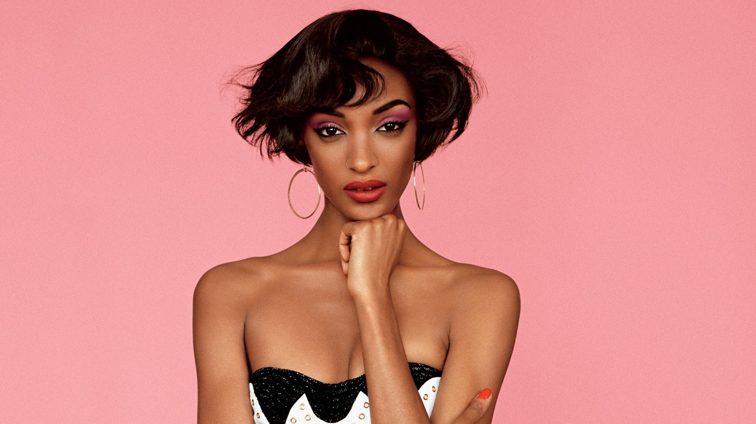 ​jourdan dunn jumps on the model turned designer train