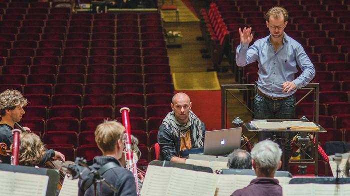 henrik schwarz is swapping his turntables for orchestras