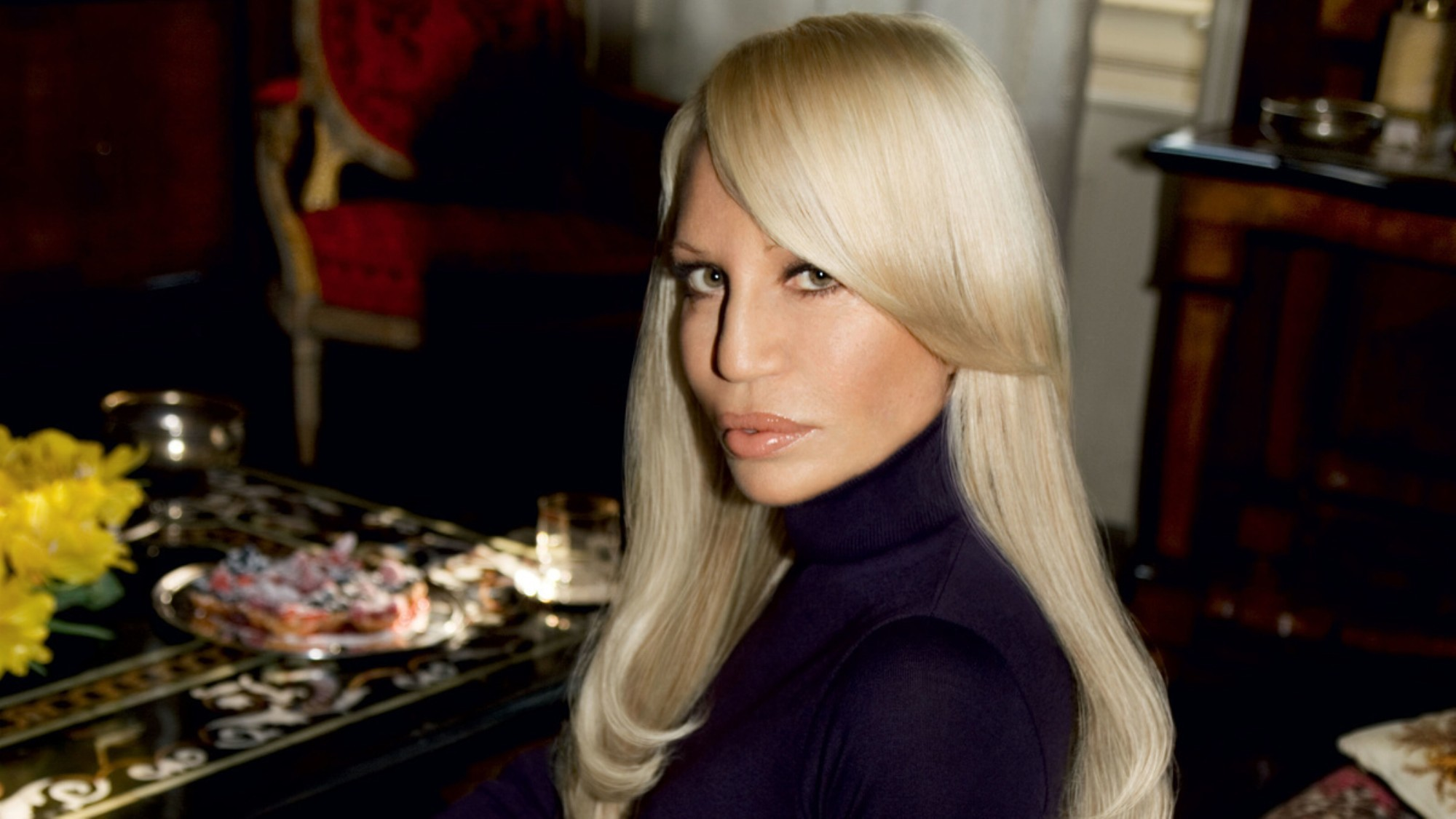 donatella challenges armani's comments on her brother ...