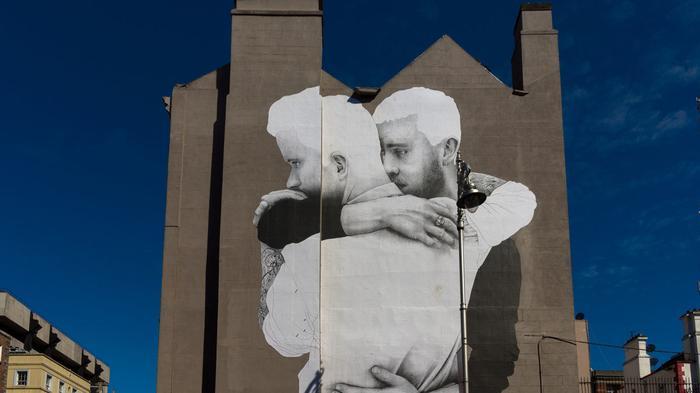 Joe caslin is immortalising ireland 39 s marginalised youth for Dublin gay mural