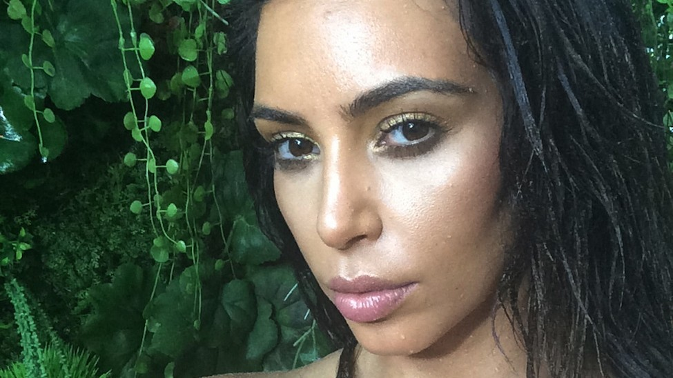 the ultimate kimages from kim k's 'selfish'