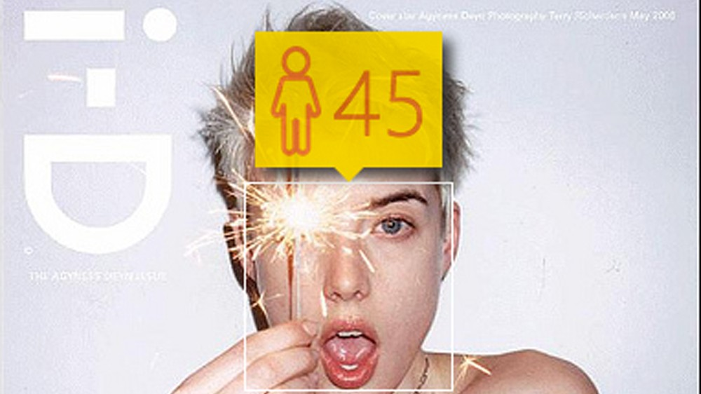 ​this new app will tell you your age and your gender