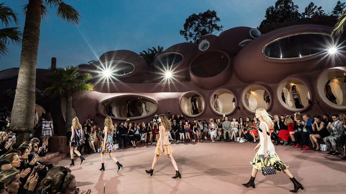 ​lighten up: raf's new take on dior's staple shapes