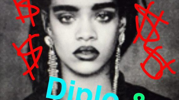 ​diplo remixes rihanna, thinks his way is better