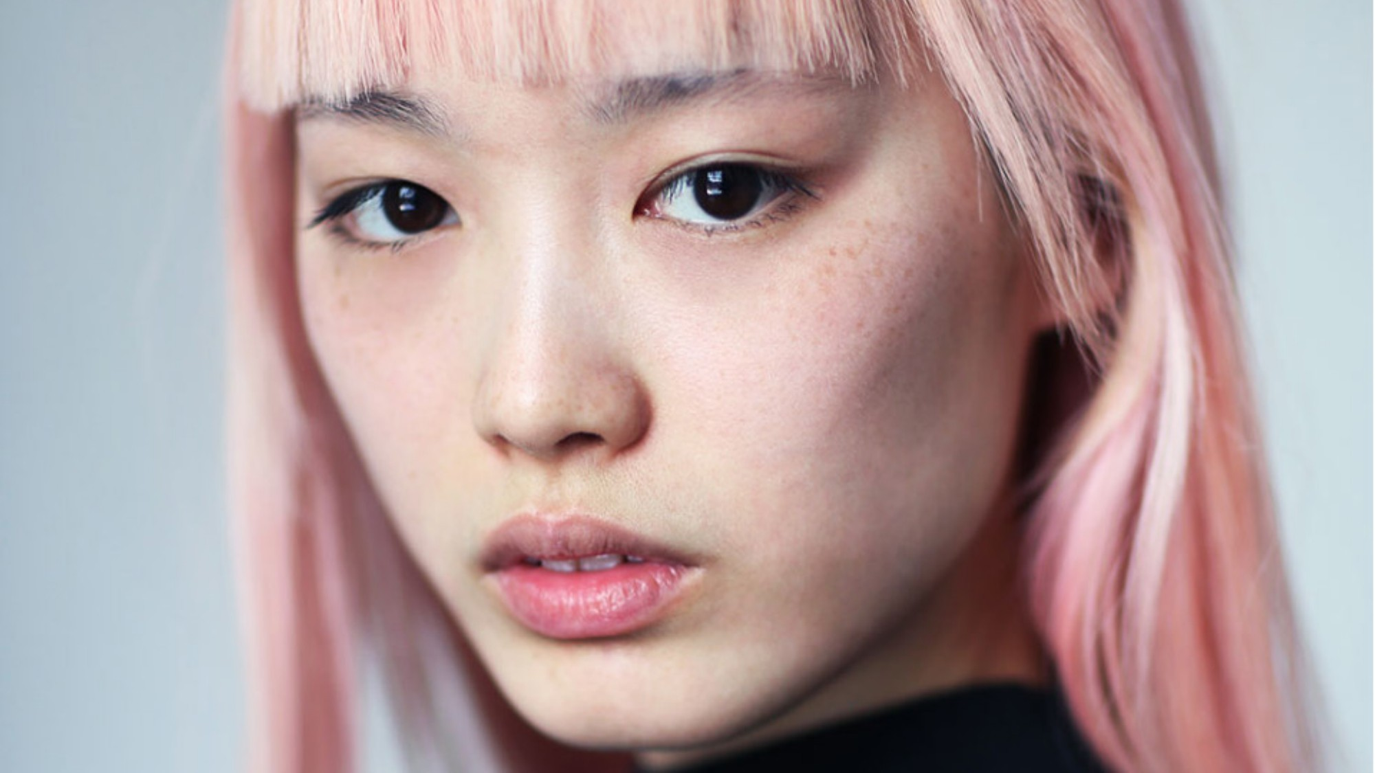pink hair don't care: rose-coloured locks on the runway
