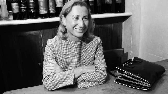 miuccia prada thinks you should get a job - i-D