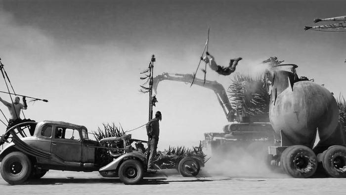 george miller prefers watching mad max in black and white