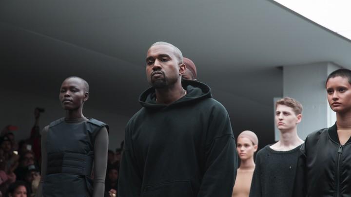 kanye west called into a radio show to dispel rumours and discuss his new album