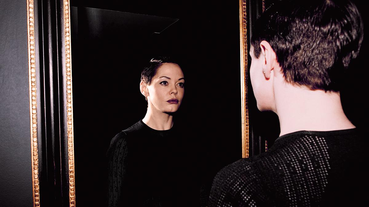 rose mcgowan is going behind the camera and intends to stay there for good
