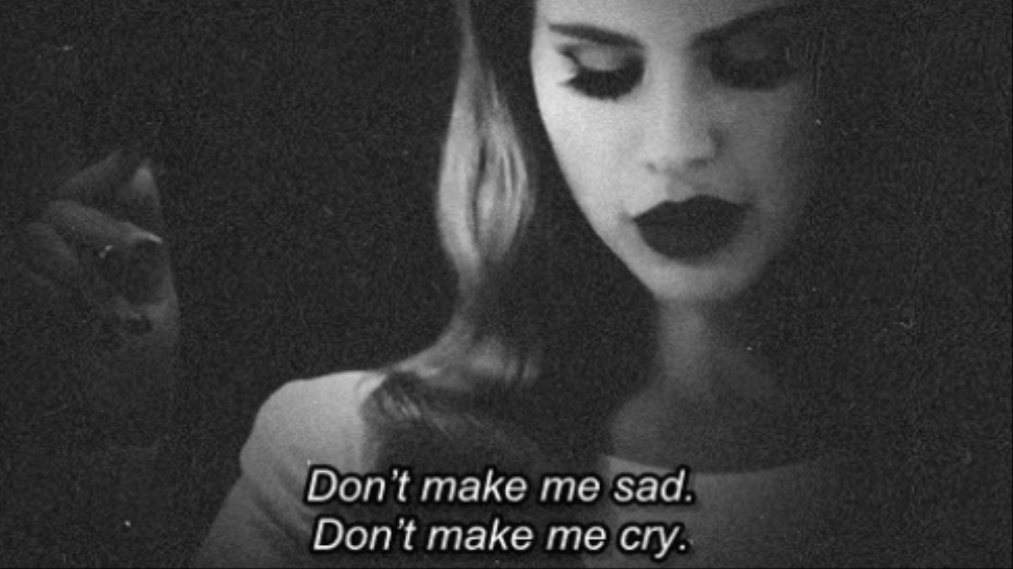 Sad Woman Quotes Tumblr: Tumblr girl b w alone photography.