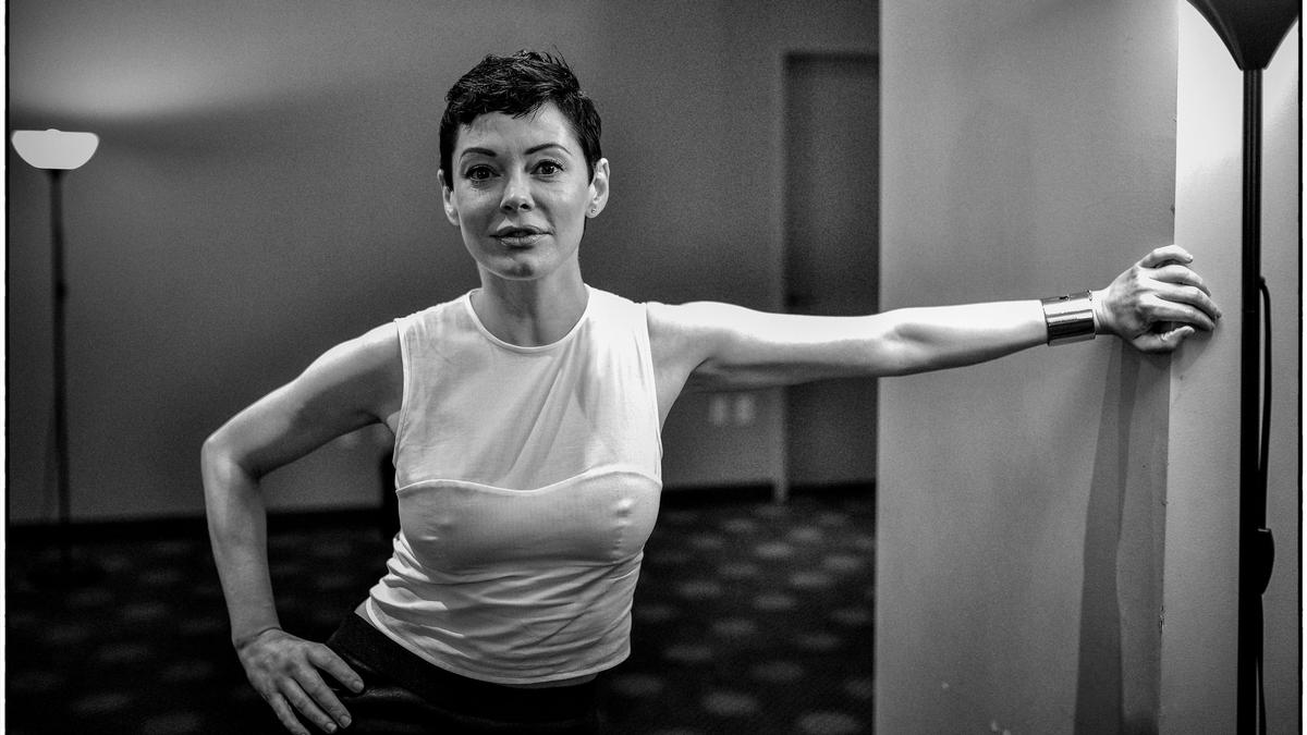how rose mcgowan is getting more punk every day