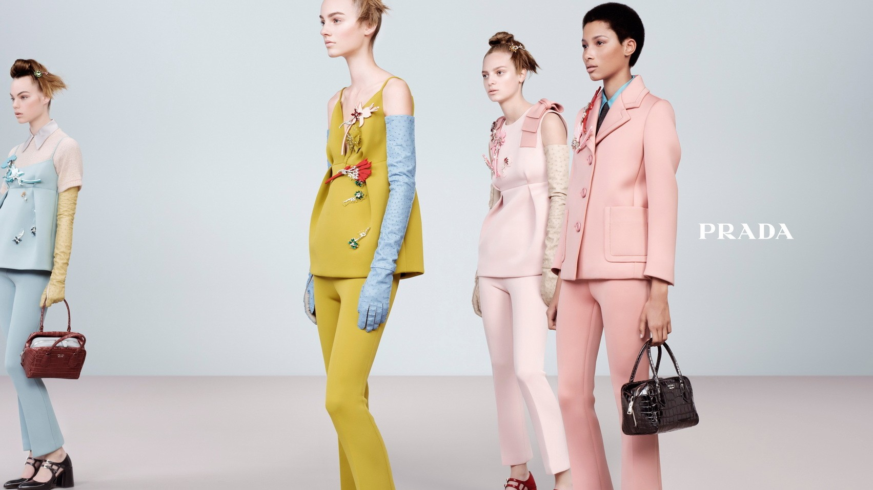 ​sneak a peek at prada's autumn/winter 15 campaign