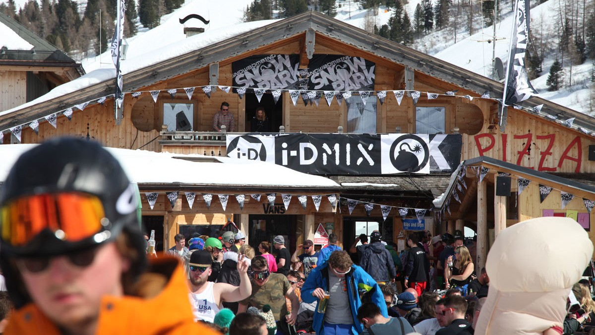 i-D mix goes back to snowbombing for 2016
