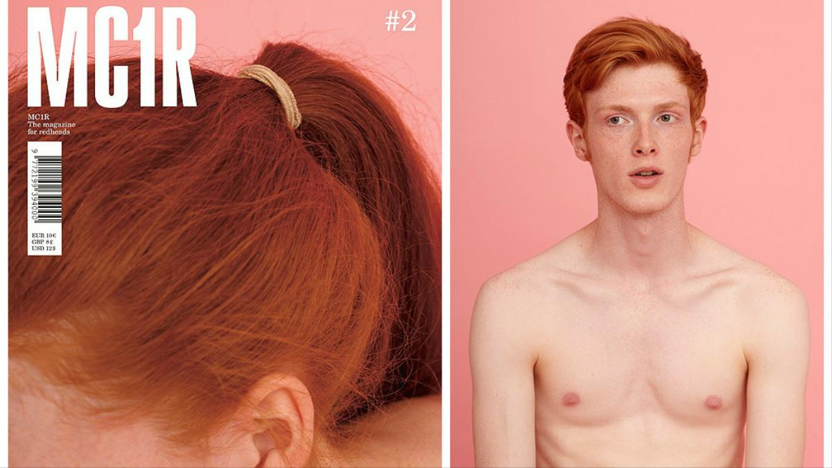 the world's first magazine all about redheads