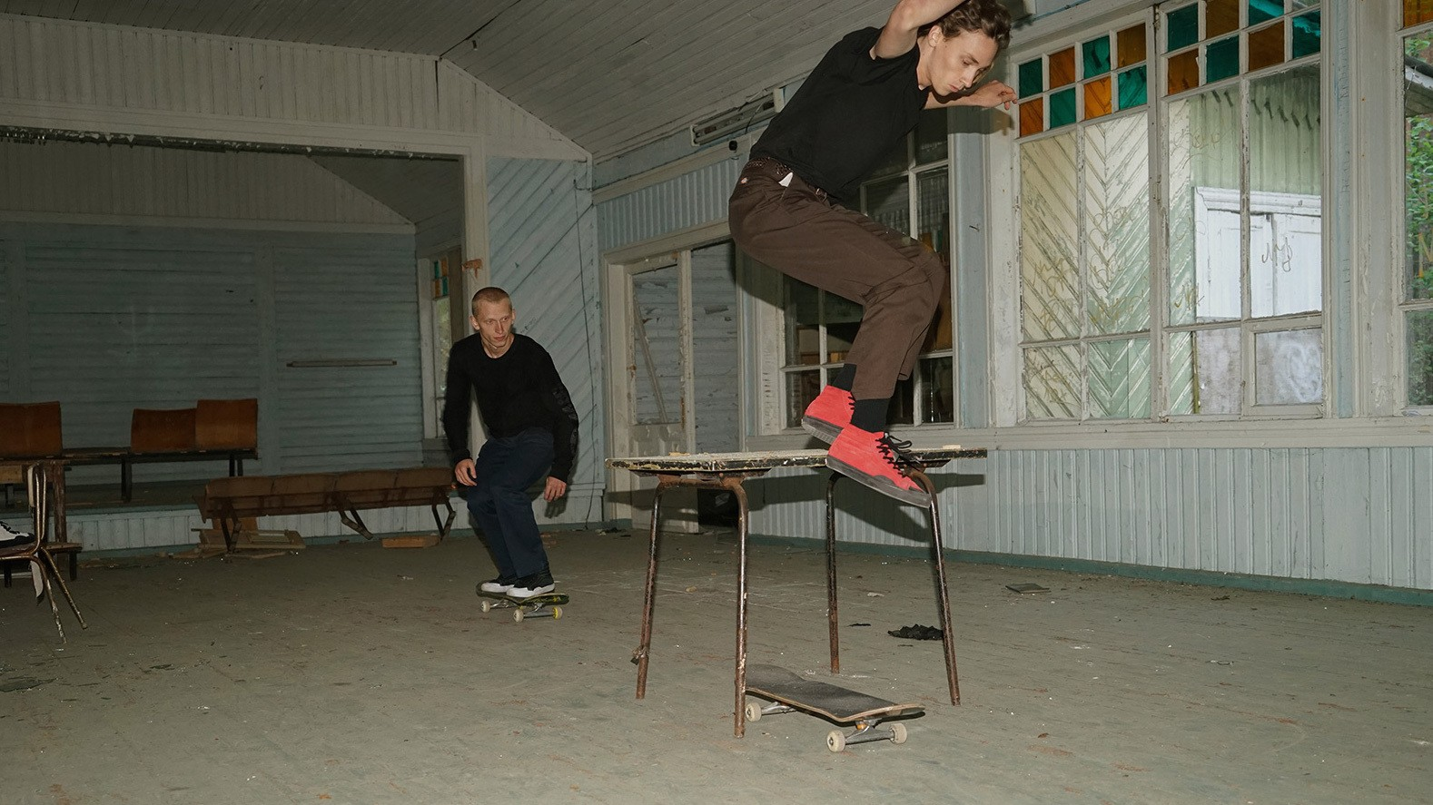 gosha rubchinskiy and vans continue their collaboration for autumn/winter 15