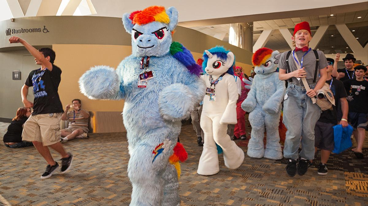 photographing my little pony and mermaid subcultures at america's fan conventions