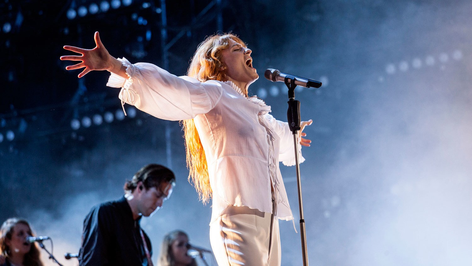 florence and the machine end summer tour on a high by headlining helsinki's flow festival