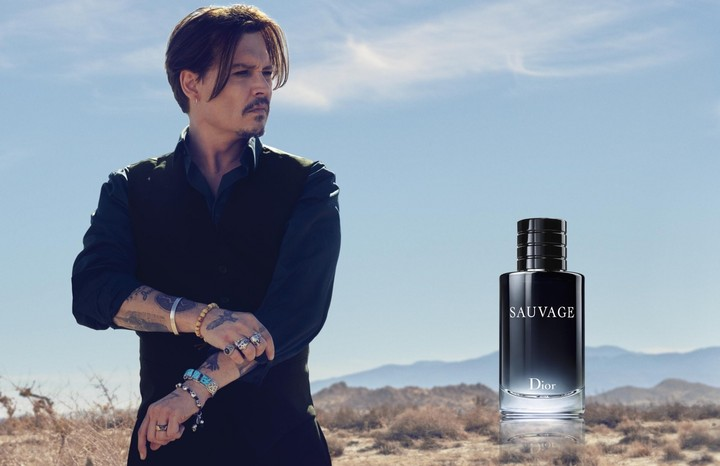 ​wild at heart: johnny depp hits the desert for dior