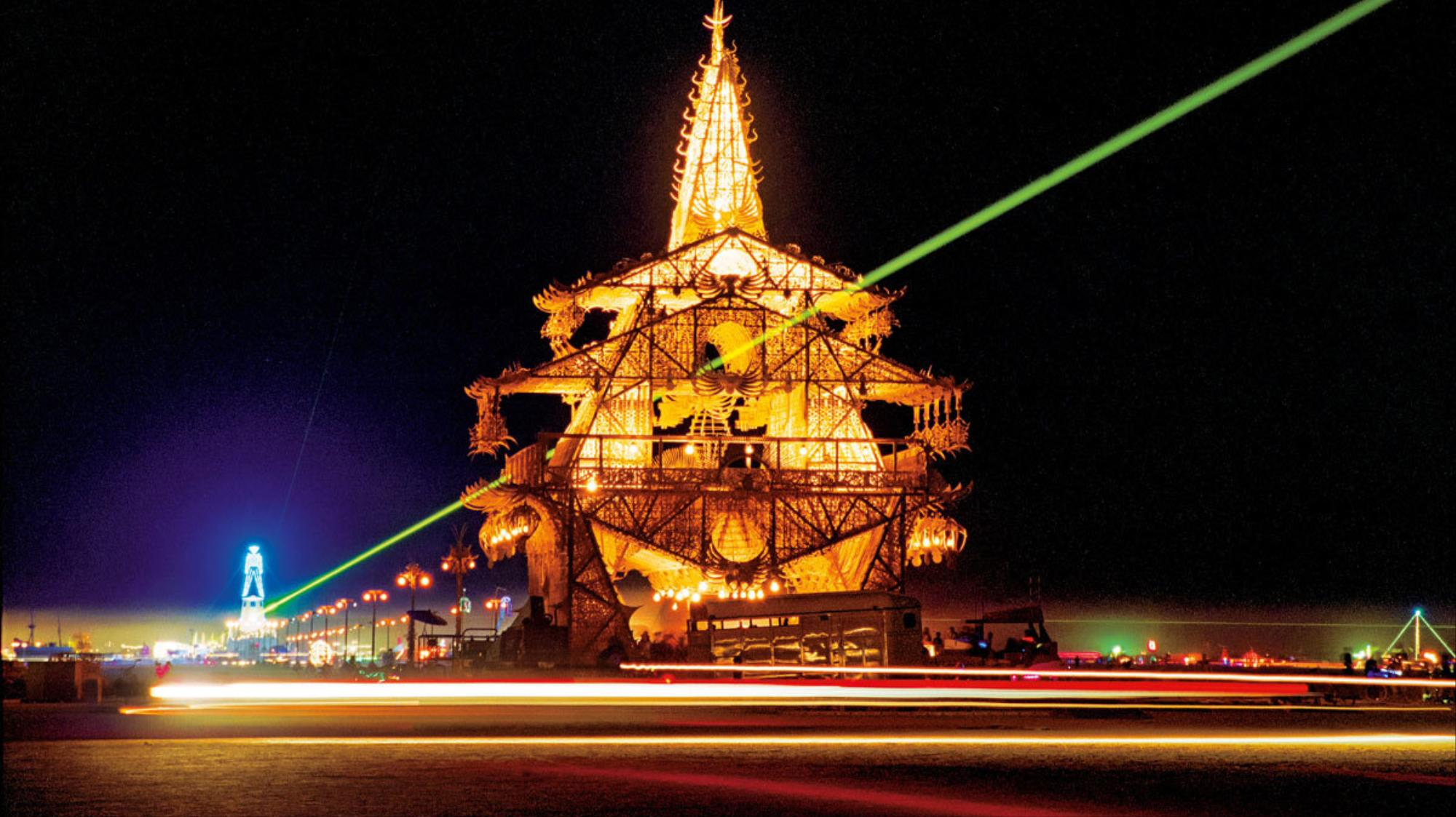 burn baby burn! celebrate the art of burning man with taschen