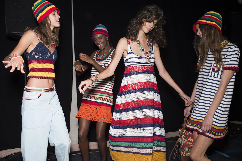 Runway Dress Tommy Hilfiger Tommy Hilfiger Turned Tropical For Springsummer