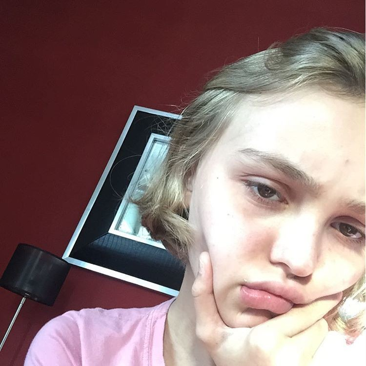 Lily Rose Depp Is Back On Instagram Says Her Account Was