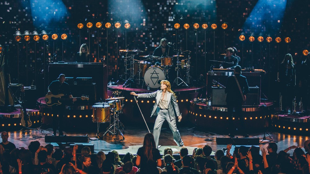 ​florence and the machine end london's apple music festival on a high