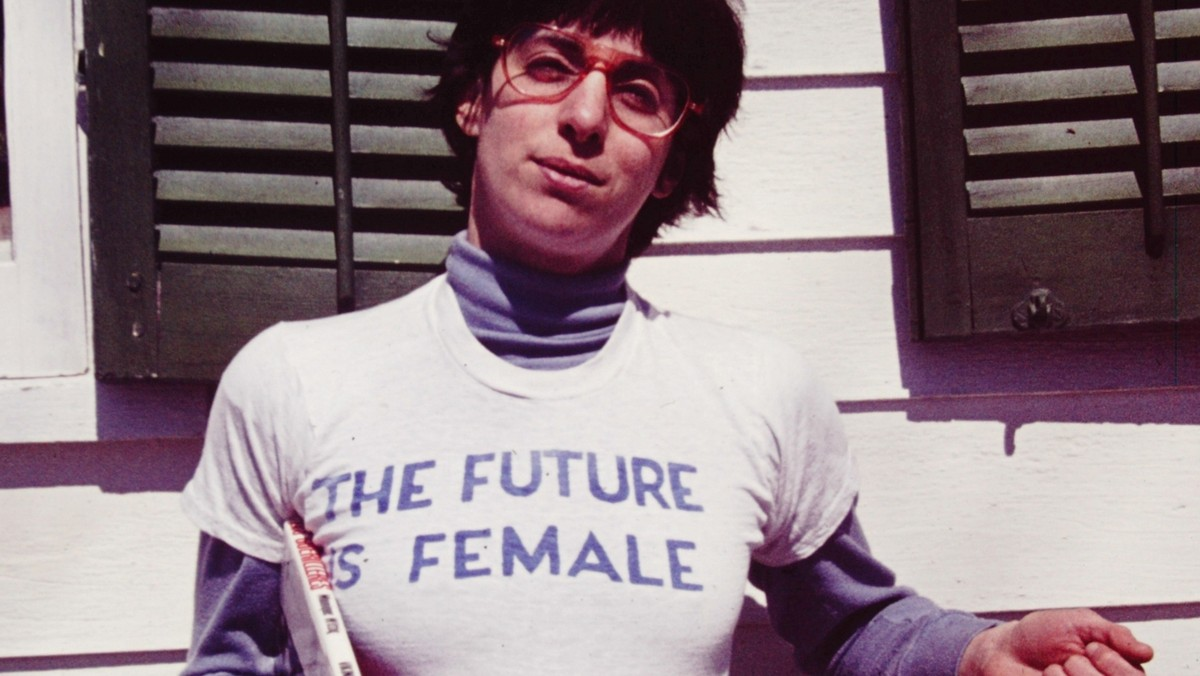 ​a radical 70s feminist t-shirt has become an instagram it-item