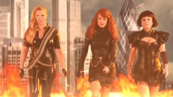 tina fey, amy schumer & amy poehler have some bad blood