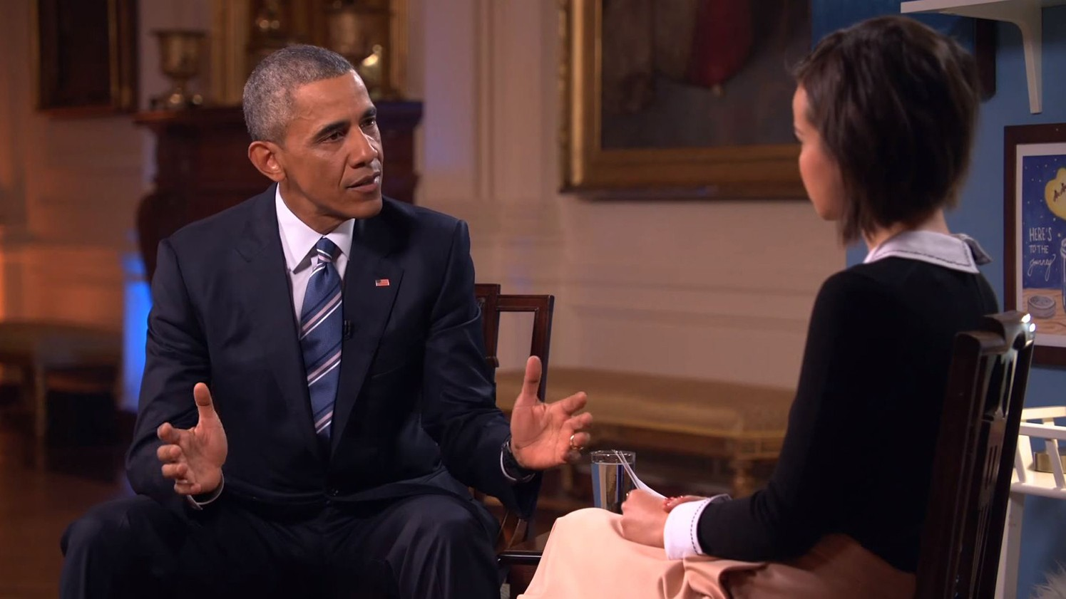 ​obama says tampon tax was probably introduced because men were making the laws