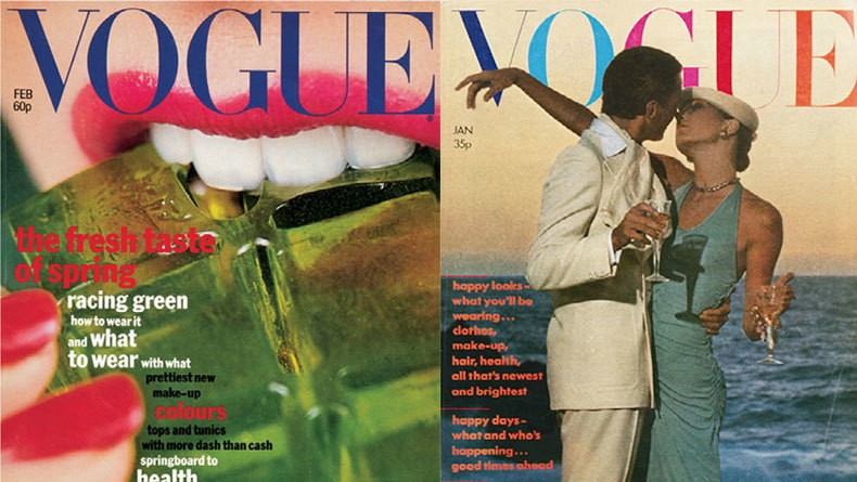 terry jones reminisces on his favourite covers from his time as art director for british vogue