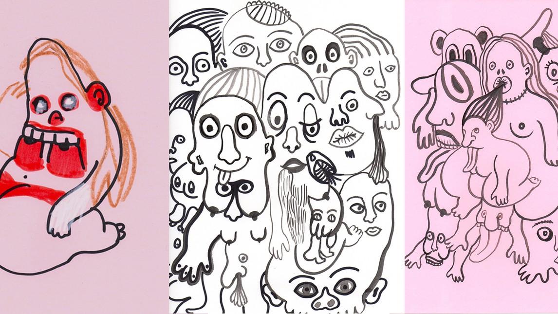 article camilla engstrom hinterfragt ihren eindeutigen zeichnungen bedeutung intimitaet