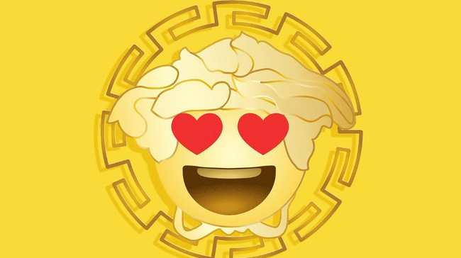 87ad7e47 enhance your text game with donatella-approved versace emojis - i-D
