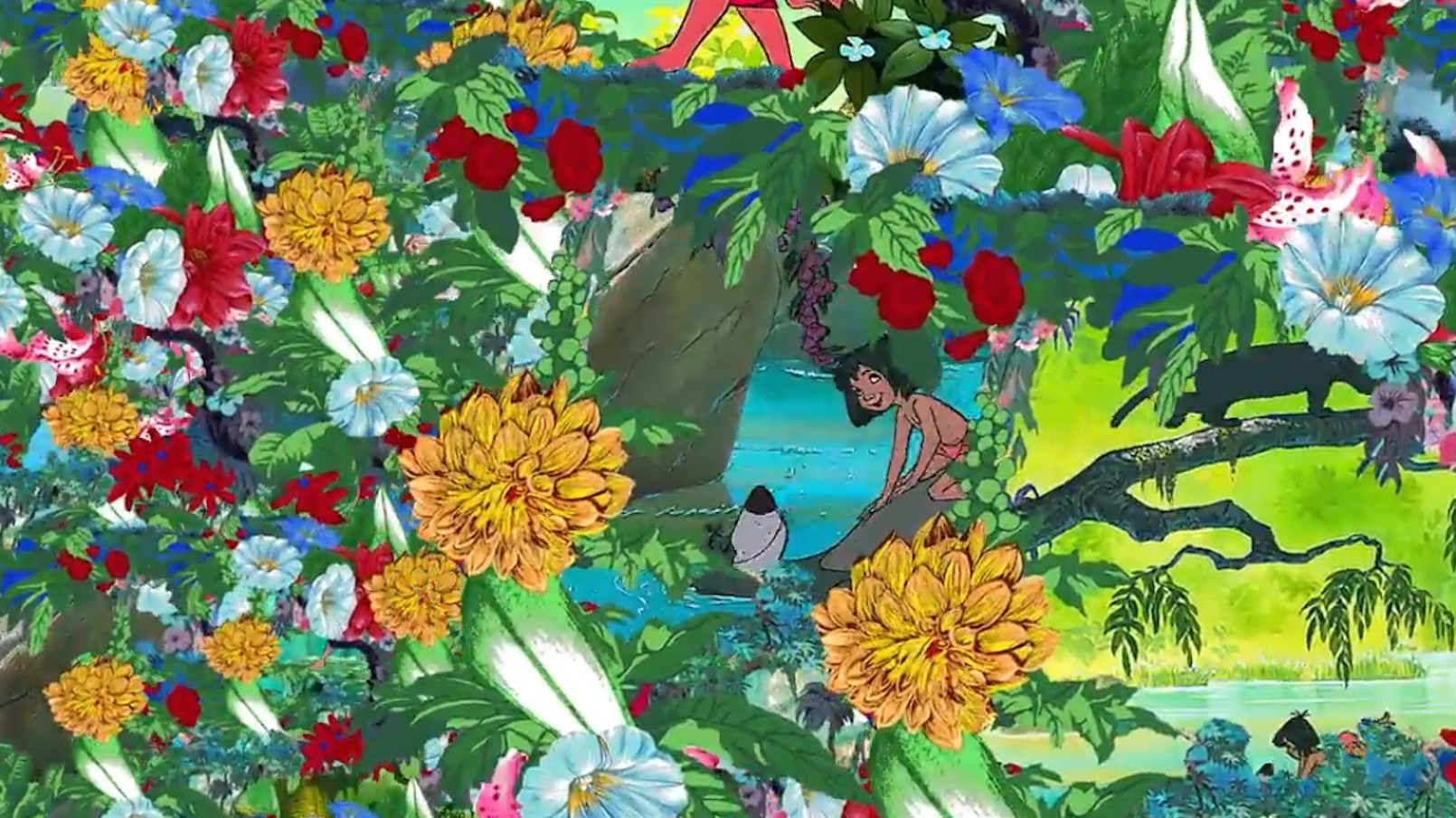 watch this trippy kenzo x 'the jungle book' teaser