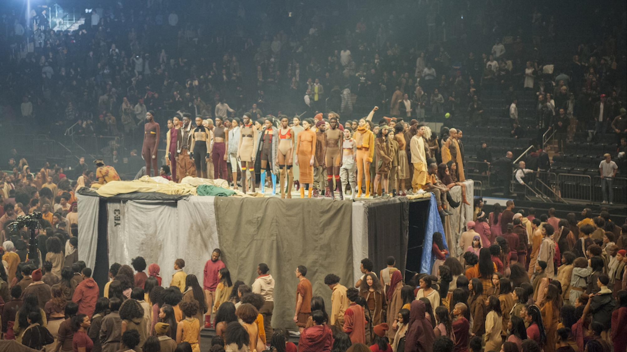 Kanye west spreads his gospel at madison square garden read i d for Madison square garden kanye west