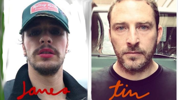 james franco and tim o'keefe discuss their smiths-inspired band, daddy