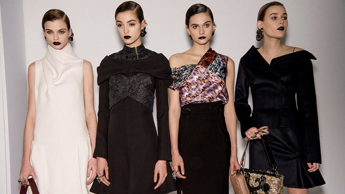 dior's past, present and future autumn/winter 16