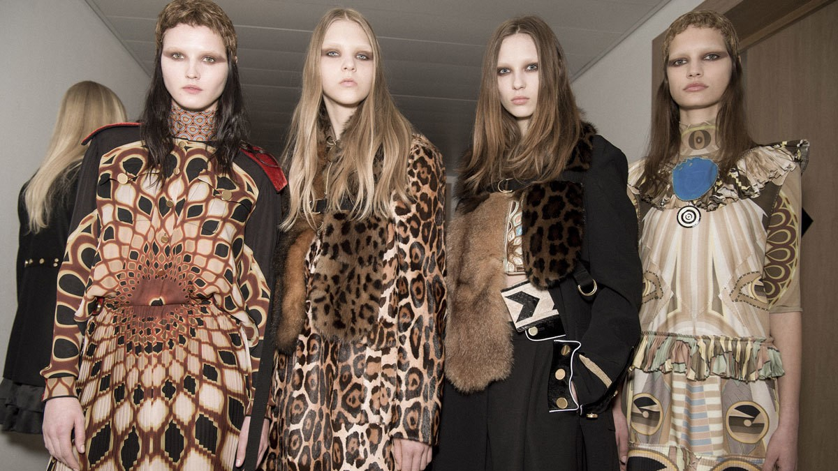 givenchy's global, graphic opulence for autumn/winter 16